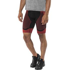 X-Bionic Effektor Power Running Pants Short Men Black/Red